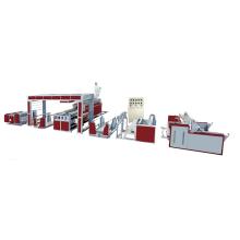 Machine de stratification de film plastique