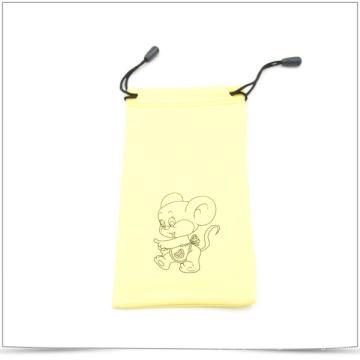 Custom impresso Microfiber Drawstring Bag para o telefone