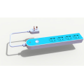 Remote Outlet Control Magnetic Extension Power Strip