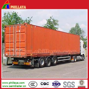 Van Body Box LKW Auflieger mit 3 Achsen 60tons