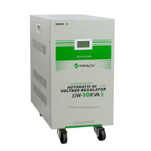 Custom Jjw-10k Single Phase Series Precise Purified Voltage Regulator / Stabilizer