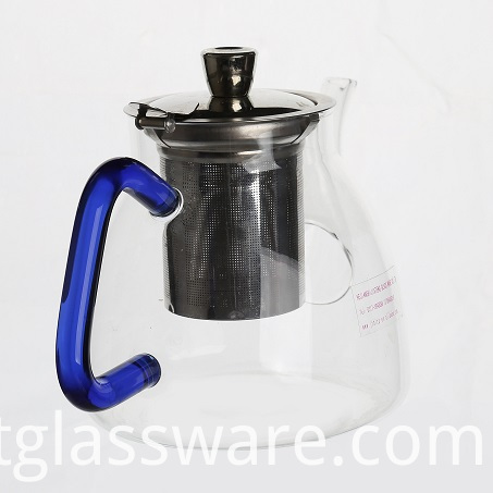 Glass Teapot with Strainer