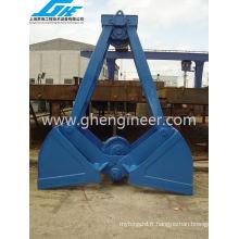 1-40m3 Deux cordes Clamshell Grab for Bulk Materials (GHE_TRCG-210)