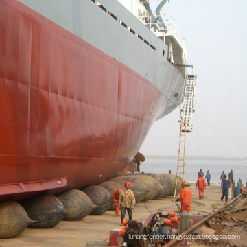 ccs certificate barge launching rubber airbag