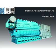700kW-4180kW HFO / gerador de óleo combustível pesado