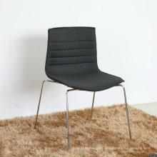 New Arrival Stripe Shape Armless Sled Leg Arper Chair (SP-HC071)