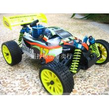 1/16 Escala PP Tipo de Plástico e Material Plástico Nitro RC Toy Car
