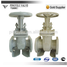 GOST pn16 flanged carbon steel water pipe fitting cuniform stem gate valve company