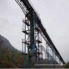 Ske Long-Distance Portabledownward Belt Conveyor for Material Handling