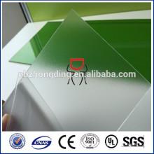 Sicherheit Polycarbonat Stuhl Matte Blatt mit runder Ecke