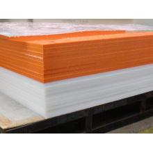Orange Color HDPE Polyethylene Plastic Sheet