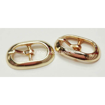 Fashion Rose Gold Color Pin Buckle, Metal Pin Buckle