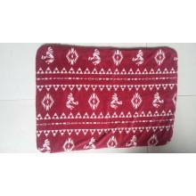 100% Polyester Printed Sherpa Fleece Throw /Baby Blanket