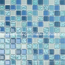Mosaico de cristal azul del mosaico de mosaico (HGM215)