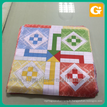 Tissu de séquence de bannière de drapeau de sac à dos de tissu de microfibre de polyester