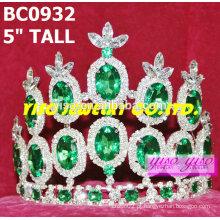 Coroas e tiaras de moda de venda quente