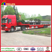 Heavy Duty Step-Wise Lowboy Semi Trailer