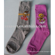 Knitted cotton cute children stock