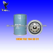Filtro de aceite 102 184 00 01 para BMW (82-94), Mercedes-Benz (85-93)
