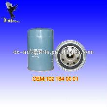 Filtro de óleo 102 184 00 01 Para BMW (82-94), Mercedes-Benz (85-93)