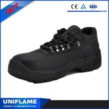 High Quality Smooth Leather Safety Shoes with Lace Ufb058
