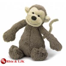 OEM diseño relleno de peluche de juguete suave de mono