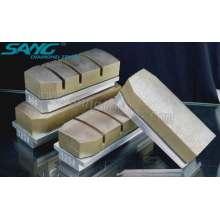 De Buena Calidad Metal Bond granito abrasivos de pulido, Diamond Fickert