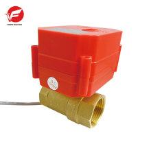 Vanne d'actionneur rotatoire pneumatique professionnelle d'eau électrique