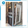 Pièces d'ascenseur avec cabine de décoration en verre de haute qualité (OS41)