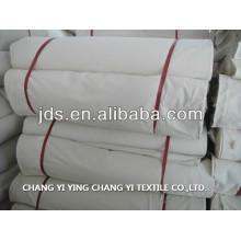 100% tela de algodón gris