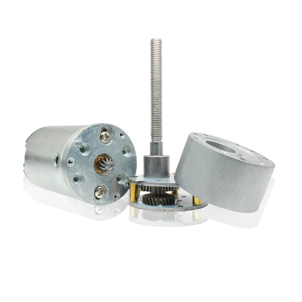 low noise gear motor
