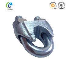 DIN 741 Stahl Simplex Drahtseilklemmen