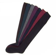 Frauen Baumwolle über das Knie Strumpf Socken (TA213)