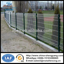 Supply iron fence panels/PVC coated metal screen for fence