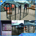 Large cheap outdoor portable metal steel fencing pet puppy dog fence