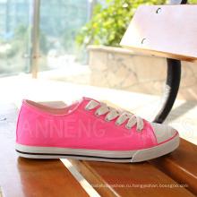 Женщины Обувь Кроссовки Холст обувь с летней яркий цвет