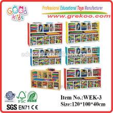 2014 novos móveis de madeira para crianças, móveis populares de madeira pré-escolar, móveis pré-escolares de venda quente