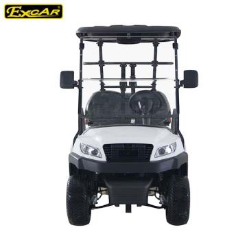 Seater elétricos do carrinho de golfe 4 da roda de alumínio vermelha