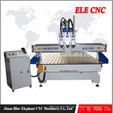 máquina de carpintaria MDF / PVC / PCB / acrílico carving CNC Router Pneumático