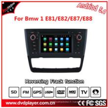 Android 5.1 Car DVD GPS pour BMW 1 E81 / E82 / E87 / E88radio Shack GPS Car Tracker (automatique)