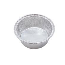 Fiambrera redonda disponible del papel de aluminio para cocer
