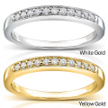 Anel de diamante de meia linha de jóias de prata esterlina 925 grosso
