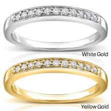 Halber Reihen-Diamant-Ring-Schmucksachen 925 Sterlingsilber Großverkauf