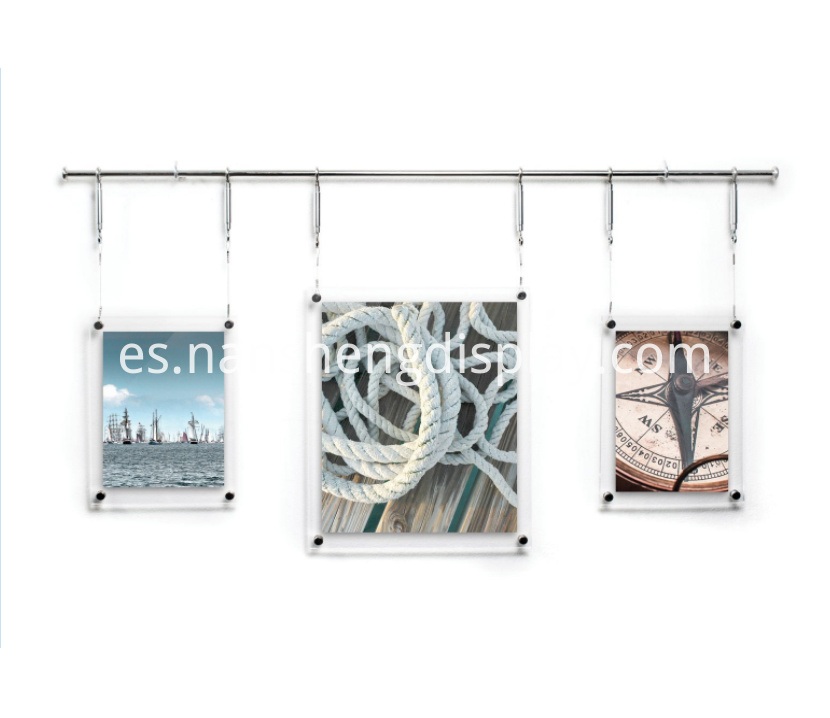 Acrylic Hanging Photos Frame
