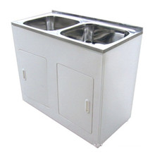 Australian Standard Sanitary Ware White Double Lavabos (1160A)