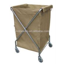 Hotel Lavandaria Hamper \ Lavadora Sorter Canvas Bags \ Gráfico de Lavanderia com rodas