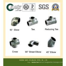 T sem costura de aço inoxidável ASTM 316ti
