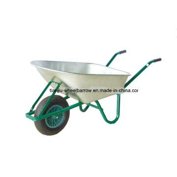 Carretilla de rueda del marco de aluminio de la carretilla Wb6412