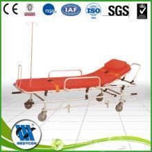 BDST201 HEISSER VERKAUF Qualitätsaluminium justierbare Legierungs-Bahre für Krankenwagen-Patienten-Transport-Laufkatze