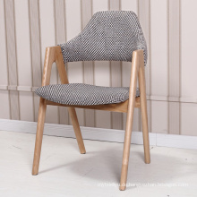 Nordischen Stil Kaffee solide Holz Stuhl